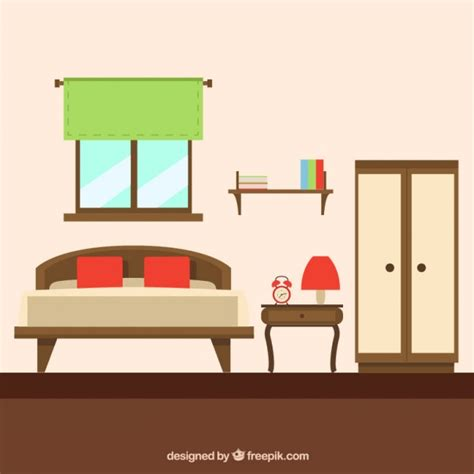outmoded home furniture vector free