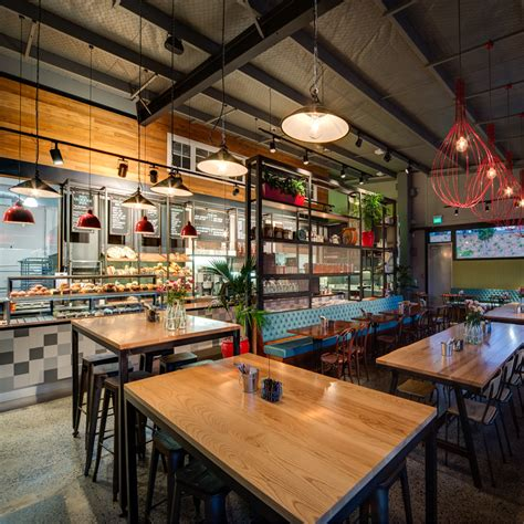 cafe design auckland bread butter cafe switch lighting