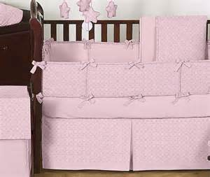 Minky Dot Crib Bedding Solid Pink Minky Dot Cheap Baby Bedding Comforter Crib Set Room Collection Ebay