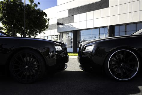 roll royce forgiato rolls royce wraith twins