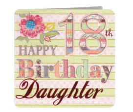 Happy 18th birthday daughter