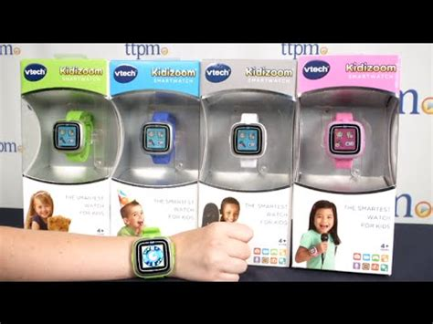 kidizoom smartwatch from vtech youtube