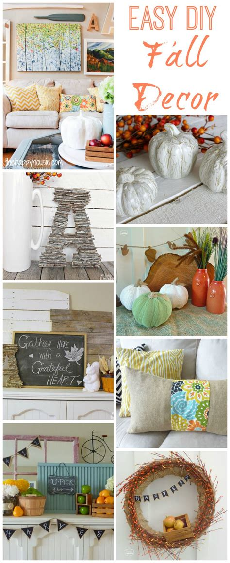 diy fall decorating projects 20 fab diy fall decor projects the co
