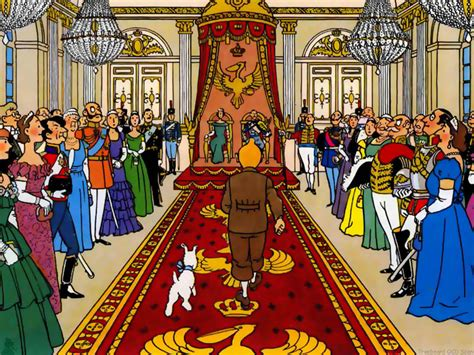 Kaos Tintin King Ottokars Sceptre slings arrows