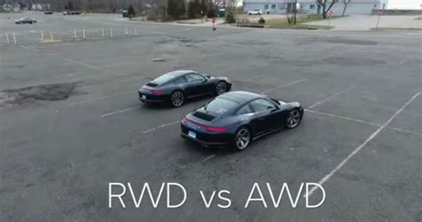 Buying A Porsche by Buying A Porsche 911 Rear Or All Wheel Drive