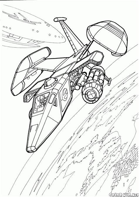 boyama sayfasi uzay gemisi