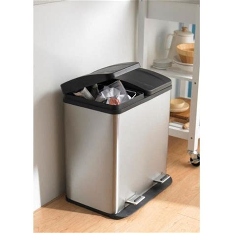 Costco Stainless Steel Trash Can Kitchen Cans Oxo For Plus Garbage Can For Kitchen