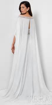 Home evening prom angelic high slit cape evening