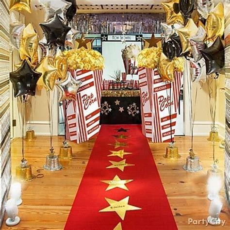 hollywood movie theme party diy hollywood theme party decorations party ideas pinte