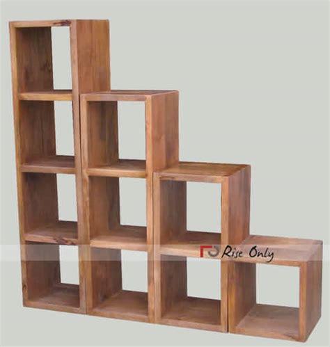 wooden cube bookshelf 28 images artistic 3 tires