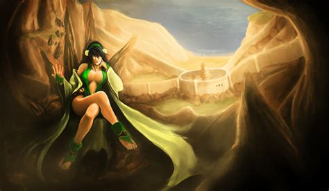 painting adults toph bei fong iv by racoonfactory on deviantart