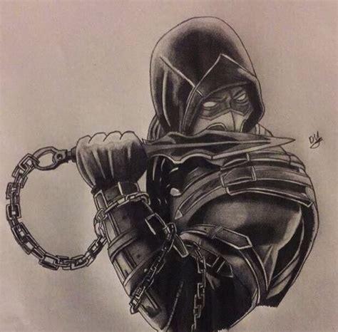 imagenes a lapiz de mortal kombat scorpion from mortal kombat drawing 231 izim pinterest