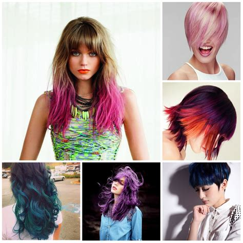 what edgy colors mix well in hair hair colors new haircuts to try for 2017 hairstyles for
