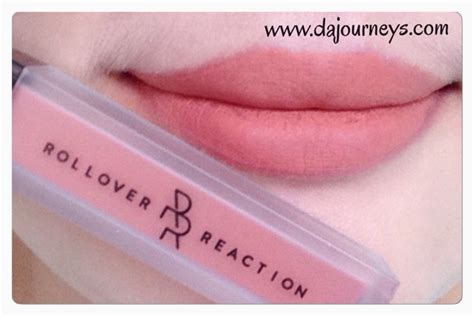 Lipstik Rollover Reaction Lizzy review rollover reaction sueded lip cheek