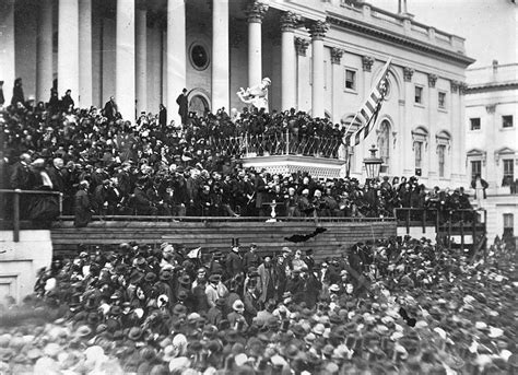 lincoln inaugural address 1865 this day in history abraham lincoln delivers second