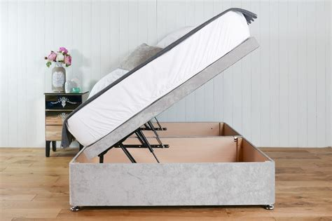 side lift ottoman bed cavendish ottoman bed with side lift beds on legs