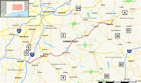 file connecticut route 66 map svg wikimedia commons