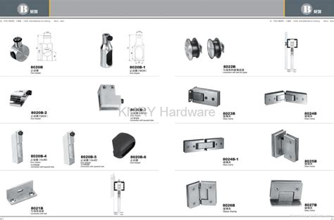 Shower Door Fittings Stainless Steel Hardware For Shower Door 8018 Kmry Hong Kong Manufacturer Products