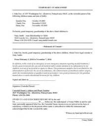 Temporary Power Of Attorney Template by Best Photos Of Temporary Power Of Attorney Letter Sle