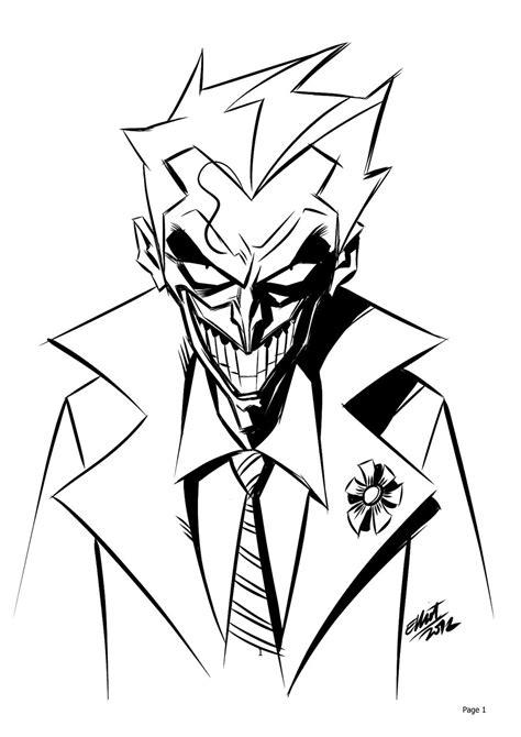 Cool Shape Outlines To Draw by Joker By Jerkmonger On Deviantart