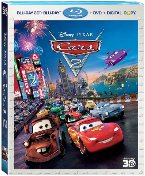 download film cars 3 bluray cars 2 3d blu ray and dvd release date set and bonus clip