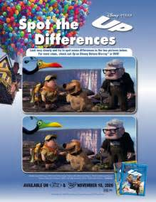disney spot difference free printable coloring