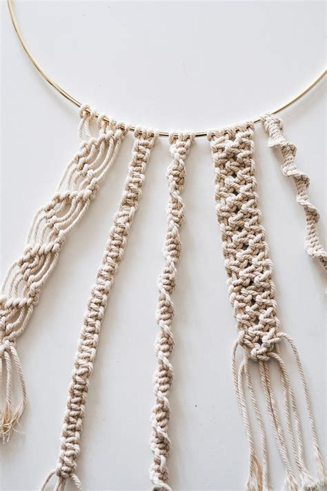 macrame knots macrame knots step by step guide decor hint