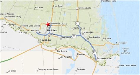 the valley texas map rgv cities information the of the valley of texas