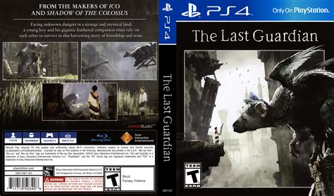 Bd Ps4 The Last Guardiaan the last guardian dvd cover 2016 usa ps4