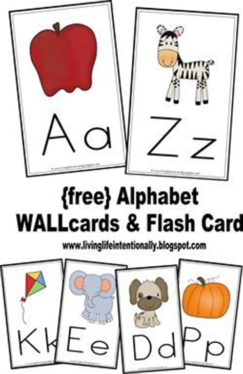 printable alphabet flash cards by nikita free alphabet wallcards flashcards