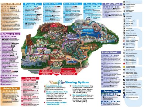 california adventure map pdf posts torrentinoglow