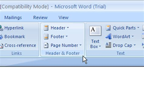 word 2007 view modes document view 171 editing 171 microsoft how to edit a header or footer in word 2007 dummies