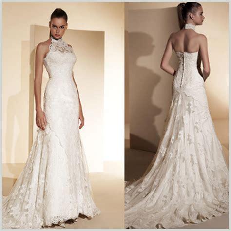 imagenes vestidos de novia actuales escote halter en los vestidos de novia innovias innovias