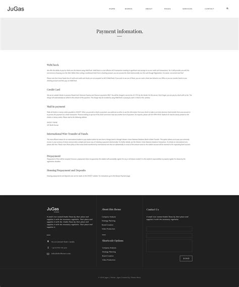 freelance portfolio template jugas stylish freelancer portfolio template by