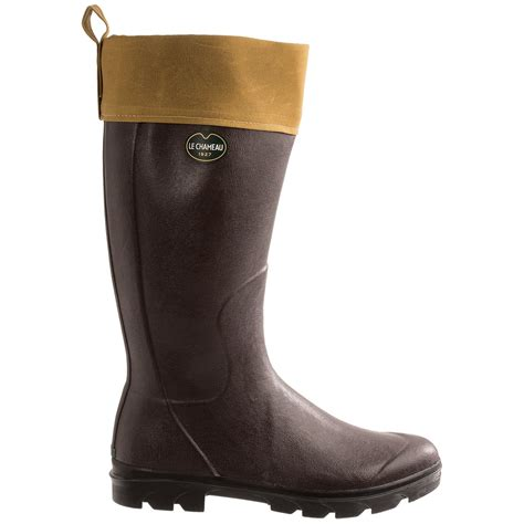 rubber boots for le chameau anjou rubber boots for save 69