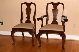 Henkel Harris Dining Room Furniture by Henkel Harris Mahogany Dining Chairs Ebth