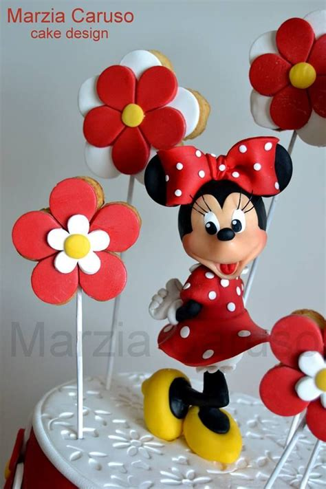 minnie mouse cake topper ideas  pinterest mickie mouse cake minnie mouse cake
