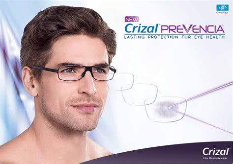 crizal blue light filter crizal prevencia block out the bad let in the