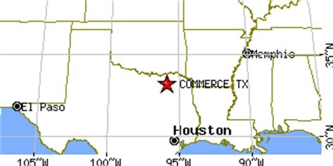 commerce texas map commerce texas tx population data races housing economy