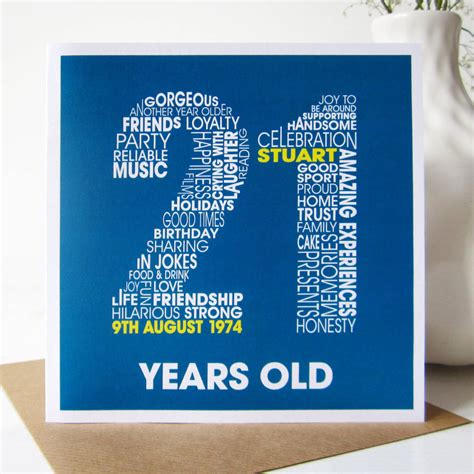 Personalised Birthday Cards With Photo Upload Personalised 21st Birthday Card By Mrs L Cards