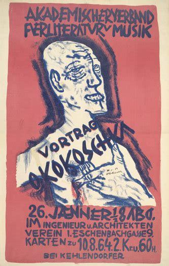 themes in german literature expressionnisme allemand 19 novembre kokoschka der