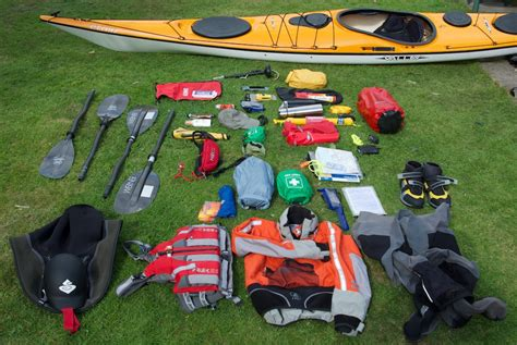 boat safety kit kayak bcu 4 star sea leaders kit list