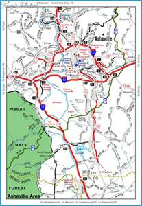 carolina map tourist attractions travel map