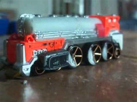 hot wheels customs: train engine youtube