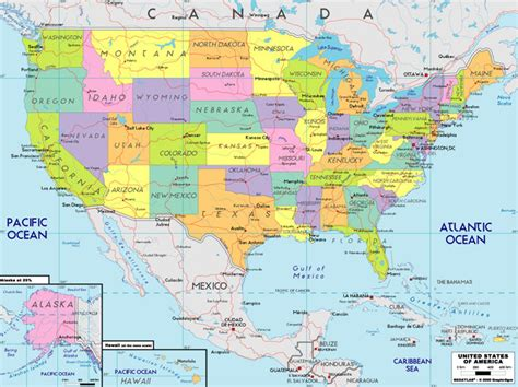state map of united states of america our inns usa family run b bs inns and small hotels