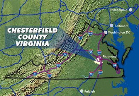 Detox Near Chesterfield County Va by Chesterfield Business Resources Geographic Location