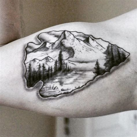 75 epic arrowhead tattoo for adventurous people