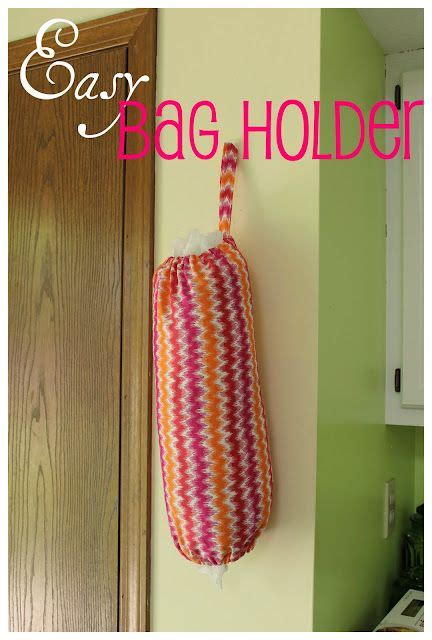 diy pattern holder easy grocery bag holder to sew pinterest mothers in