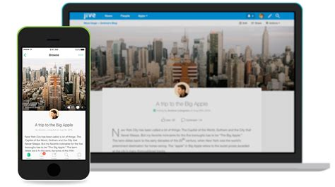 jive daily mobile intranet app with interactive employee