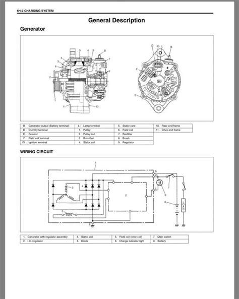 alternator wiring diagram for 2003 kia 2003 kia